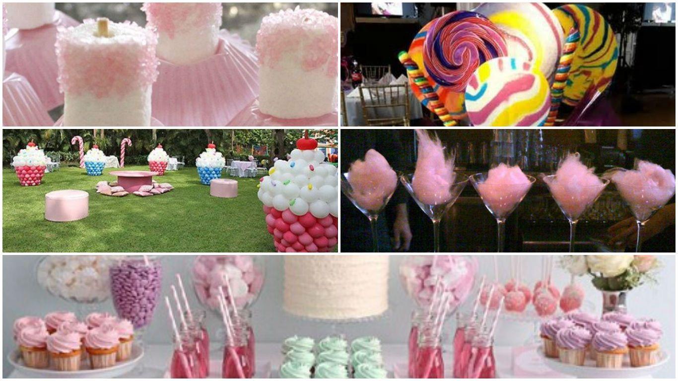 Candy Factory Perú , Ideas para la fiesta de 15 años